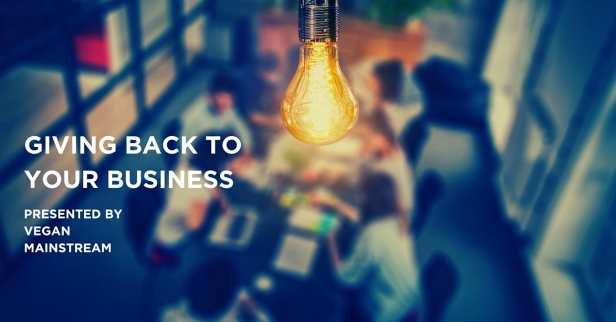 Giving Back To Your Business