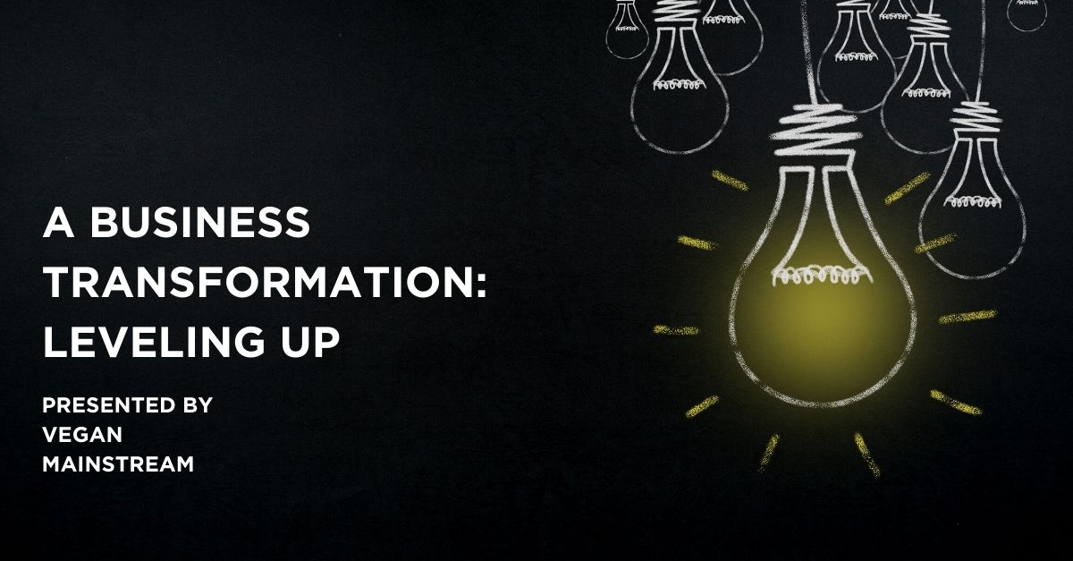 A Business Transformation: Leveling Up